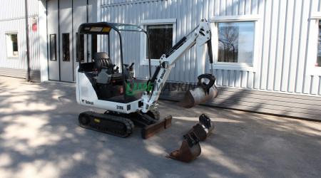 Bobcat 319K Minigrävare -09
